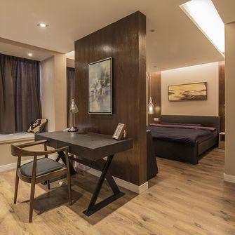 110平米三室一厅混搭风格卧室装修图片大全