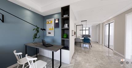 90平米三室两厅北欧风格走廊装修效果图