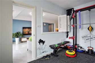 120平米三室两厅现代简约风格健身室装修效果图