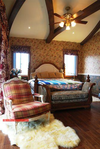 140平米别墅地中海风格卧室欣赏图
