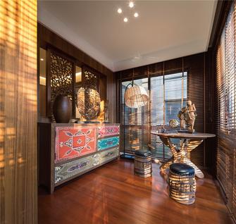 90平米三室两厅东南亚风格其他区域设计图
