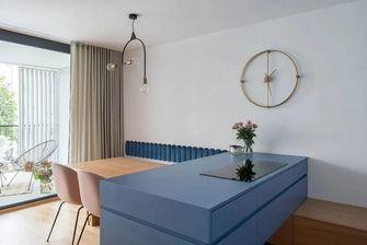 60平米公寓现代简约风格餐厅图片大全