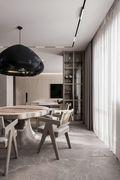 100平米日式风格餐厅装修效果图