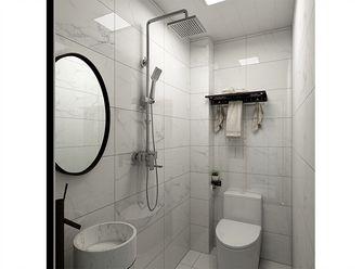 120平米三室一厅北欧风格卫生间图片大全