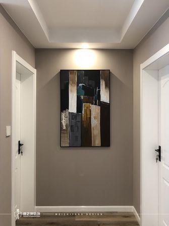 20万以上60平米三室一厅现代简约风格走廊装修效果图