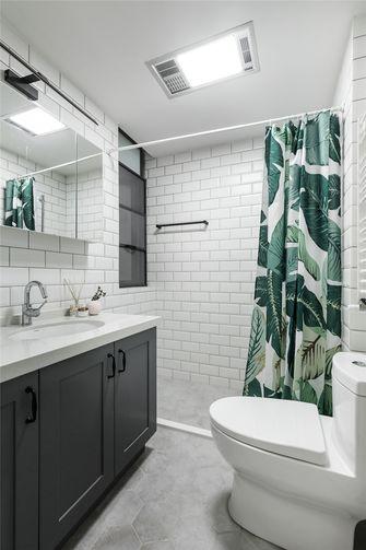 90平米三田园风格卫生间装修案例