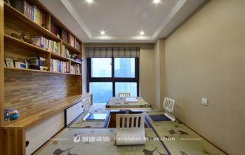 130平米三室两厅欧式风格书房图片大全