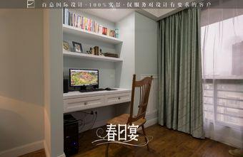 5-10万110平米三室两厅田园风格梳妆台图片大全