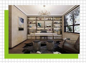 110平米四室两厅中式风格书房图片