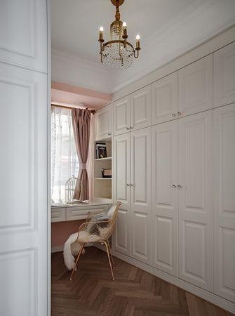 120平米三室两厅法式风格衣帽间图片大全