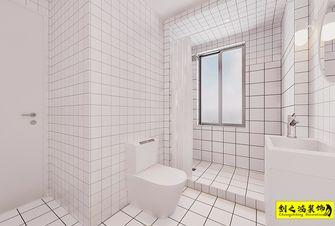 60平米一室一厅北欧风格卫生间设计图