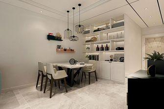 70平米一居室地中海风格餐厅欣赏图