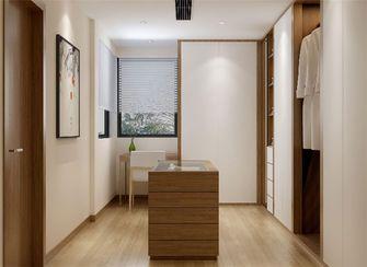140平米别墅日式风格衣帽间图