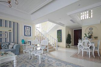 140平米复式地中海风格客厅欣赏图