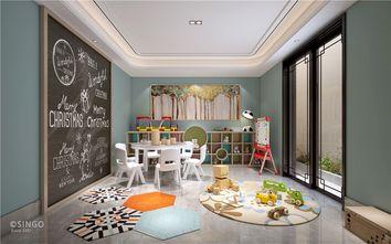 140平米别墅中式风格儿童房效果图