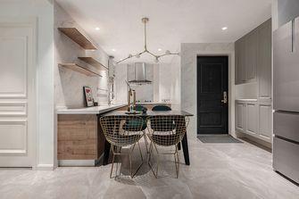80平米一居室法式风格餐厅图片大全