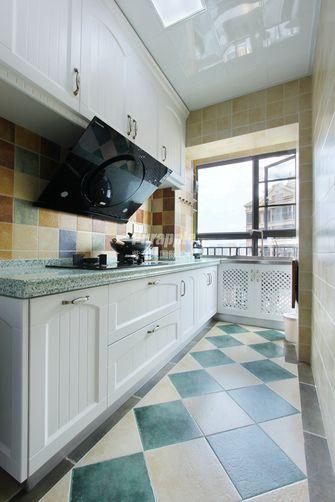 80平米三室两厅地中海风格厨房图片