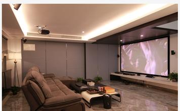 120平米别墅现代简约风格影音室装修图片大全