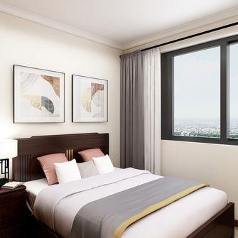 130平米三中式风格卧室图片大全
