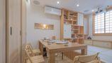 110平米三田园风格餐厅效果图