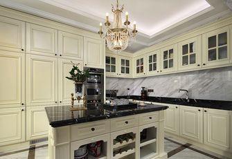 140平米别墅英伦风格厨房图片