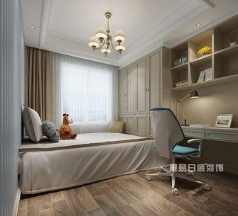120平米三室一厅新古典风格卧室装修图片大全