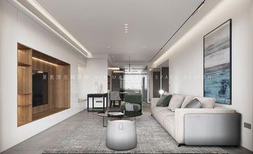 130平米四现代简约风格客厅图片大全