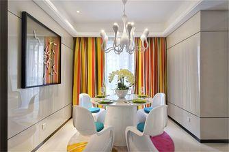 110平米三室两厅田园风格餐厅图片大全