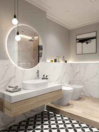 100平米三室一厅现代简约风格卫生间装修效果图