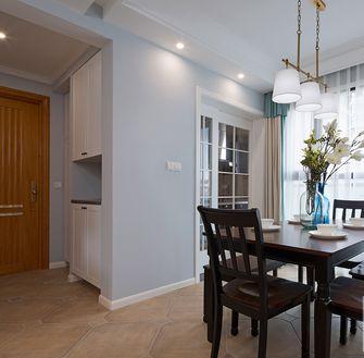 110平米三室两厅美式风格餐厅欣赏图