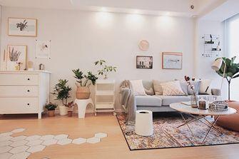 80平米北欧风格客厅装修图片大全