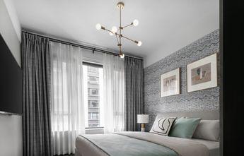 140平米四室一厅混搭风格卧室装修图片大全