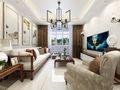 90平米公寓中式风格客厅沙发图片大全