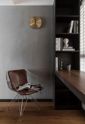 110平米三室一廳現代簡約風格書房裝修圖片大全