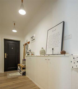110平米三室一厅日式风格玄关装修图片大全