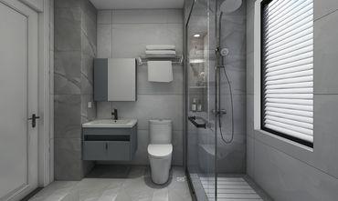 120平米三室三厅混搭风格卫生间设计图