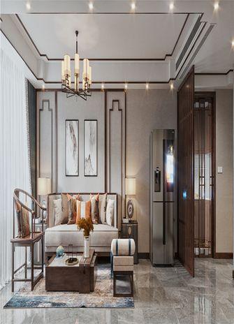 100平米三室两厅中式风格书房图