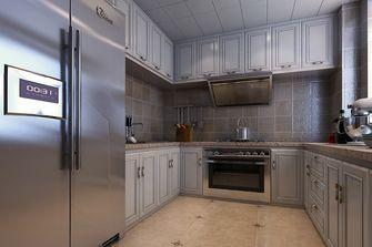 80平米公寓中式风格厨房设计图