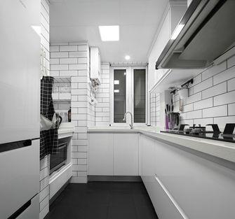 140平米三室一厅北欧风格厨房图片