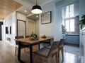80平米北欧风格餐厅家具效果图