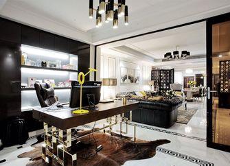 140平米四室两厅新古典风格书房图片大全