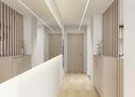 60平米一室两厅日式风格玄关图片