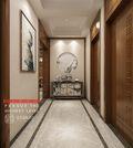140平米别墅中式风格走廊图片大全