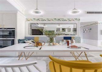 110平米美式风格餐厅设计图