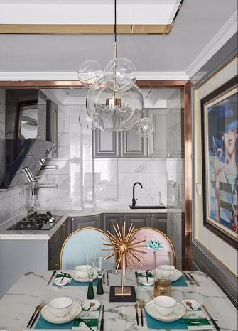 80平米公寓法式风格厨房设计图