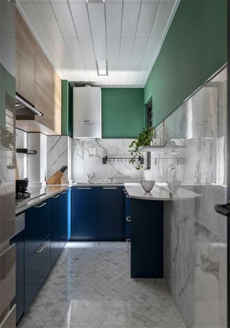 120平米三室三厅现代简约风格厨房图片大全