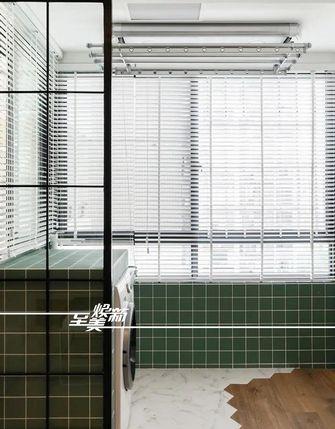 80平米三室三厅日式风格阳台欣赏图