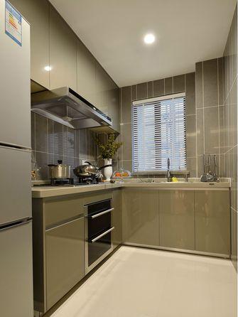 120平米三室两厅欧式风格厨房装修图片大全