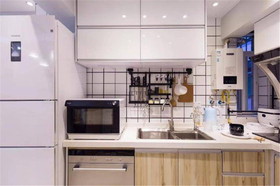 90平米公寓北欧风格厨房效果图