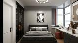 50平米公寓混搭风格卧室装修案例